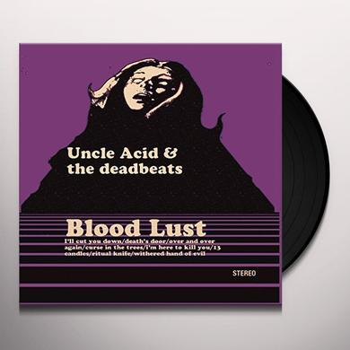 Uncle Acid & The Deadbeats BLOOD LUST Vinyl Record - 180 Gram Pressing
