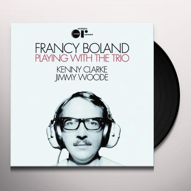 Francy Boland PLAYING WITH THE TRIO Vinyl Record