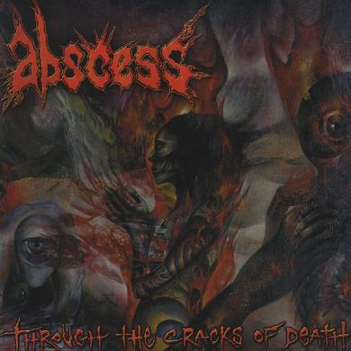 Abscess THROUGH THE CRACKS OF DEATH Vinyl Record
