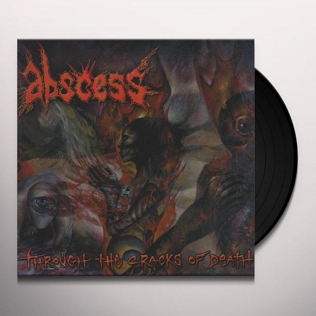 Abscess THROUGH THE CRACKS OF DEATH Vinyl Record