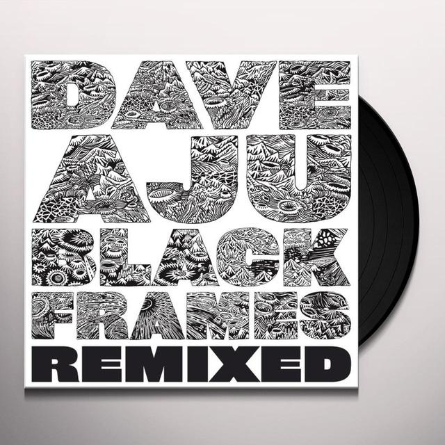 Dave Aju BLACK FRAMES REMIXED Vinyl Record