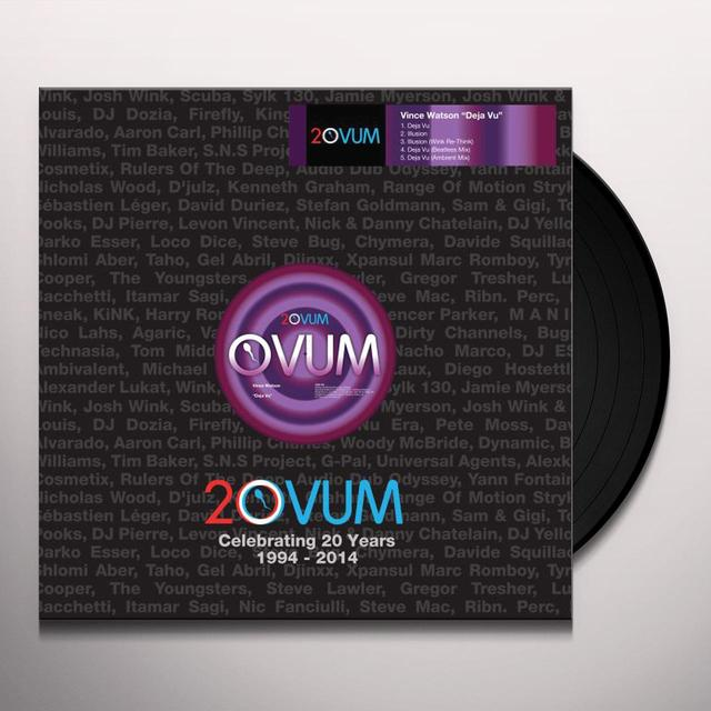 Vince Watson DEJA VU Vinyl Record