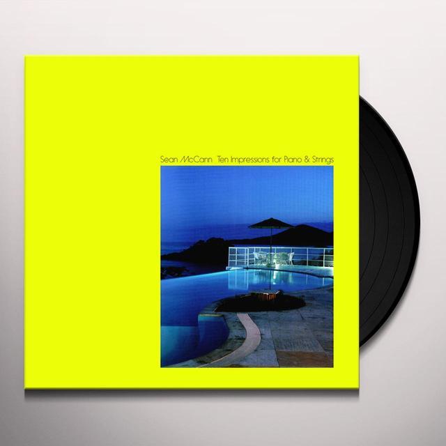 Sean Mccann TEN IMPRESSIONS FOR PIANO & STRINGS Vinyl Record