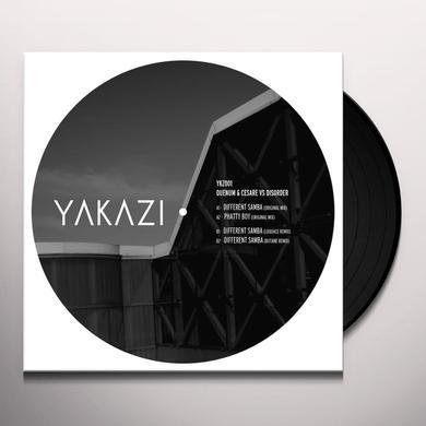 QUENUM & CESARE VS DISORDER DIFFERENT SAMBA Vinyl Record