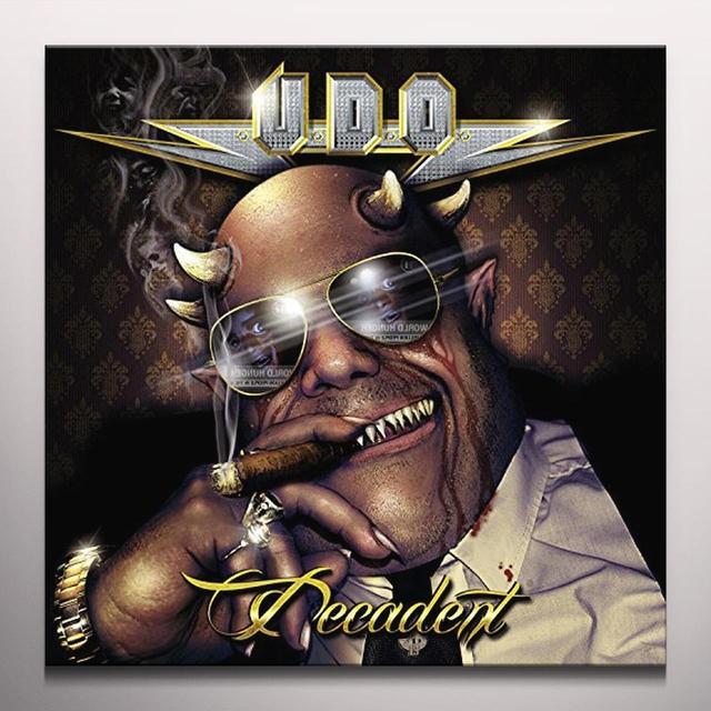 U.D.O. DECADENT (BLK) (COLV) (Vinyl)