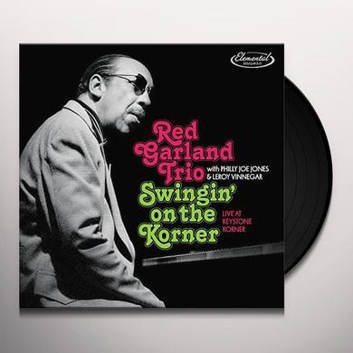 Red Garland Trio SWINGIN ON THE KORNER: LIVE AT KEYSTONE KORNER Vinyl Record