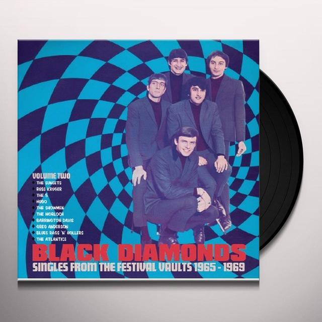BLACK DIAMONDS: SINGLES FROM 1965-1969 2 / VARIOUS Vinyl Record