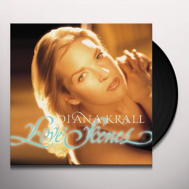 Diana Krall LOVE SCENES Vinyl Record - Gatefold Sleeve, Limited Edition, 180 Gram Pressing