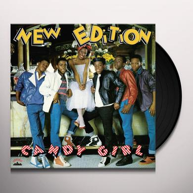New Edition CANDY GIRL Vinyl Record