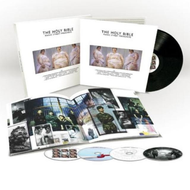Manic Street Preachers HOLY BIBLE 20TH ANNIVERSARY (HK) Vinyl Record - Anniversary Edition