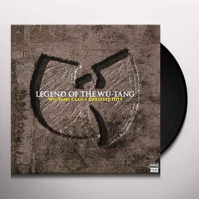 LEGEND OF THE WU-TANG Vinyl Record