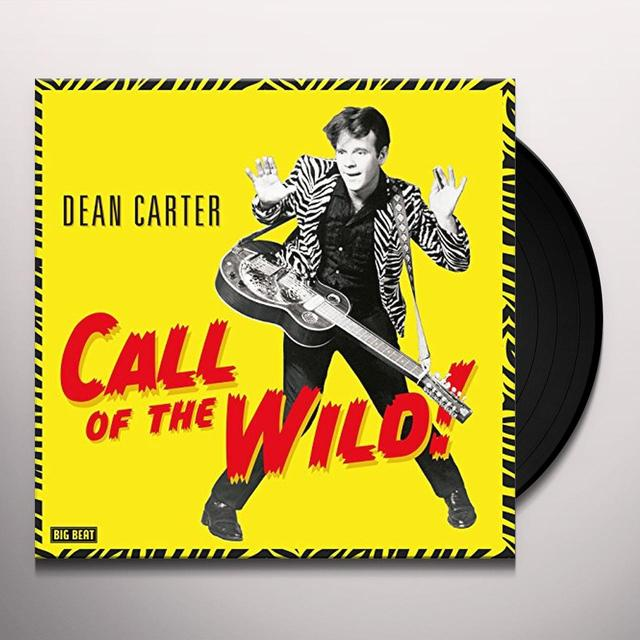 Dean Carter CALL OF THE WILD Vinyl Record