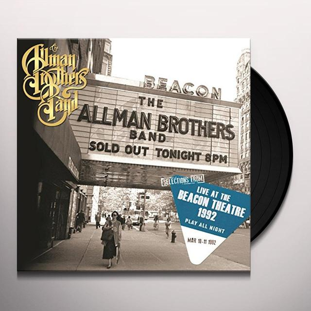 The Allman Brothers Band  SELECTIONS FROM PLAY Vinyl Record - Holland Import