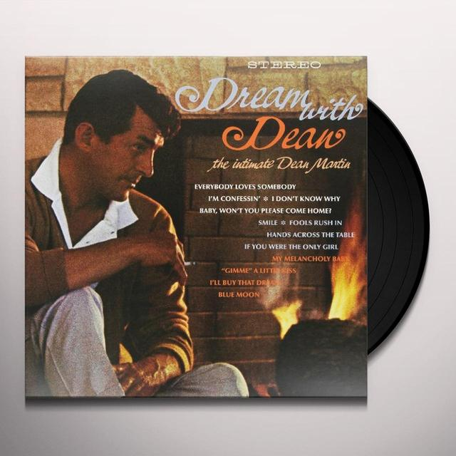 Dean Martin DREAM WITH DEAN Vinyl Record - Holland Release