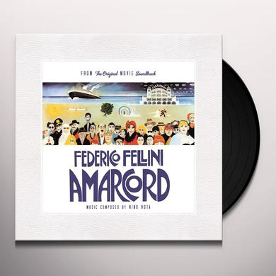 AMARCORD / O.S.T. (HOL) AMARCORD / O.S.T. Vinyl Record - Holland Release
