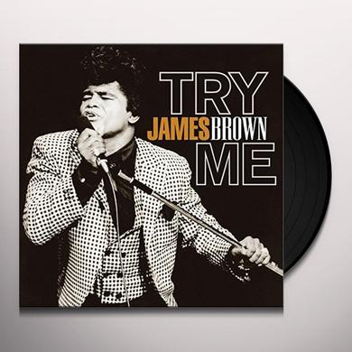 James Brown TRY ME Vinyl Record
