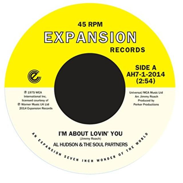 Al Hudson I'M ABOUT LOVING YOU / WHEN YOU'RE GONE Vinyl Record