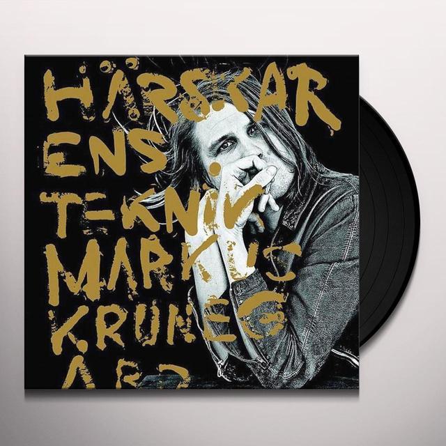 Markus Krunegard HARSKARENS TEKNIK Vinyl Record - Holland Import