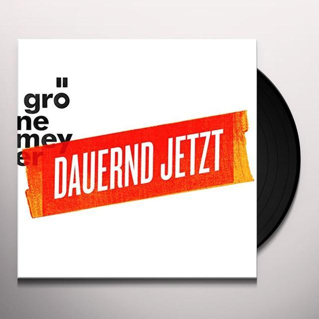 Herbert Groenemeyer DAUERND JETZT (GER) Vinyl Record