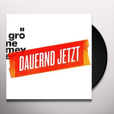 Herbert Groenemeyer DAUERND JETZT Vinyl Record