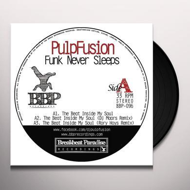 Pulpfusion / Morris Chestnut FUNK NEVER SLEEPS Vinyl Record