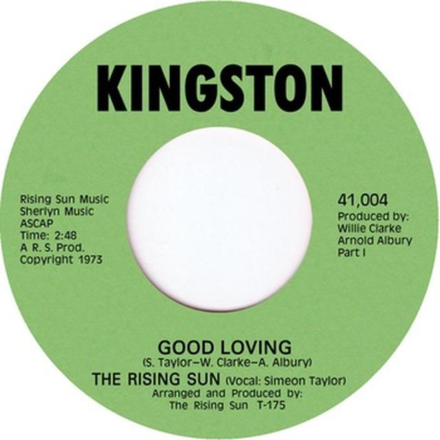 Rising Sun GOOD LOVING Vinyl Record