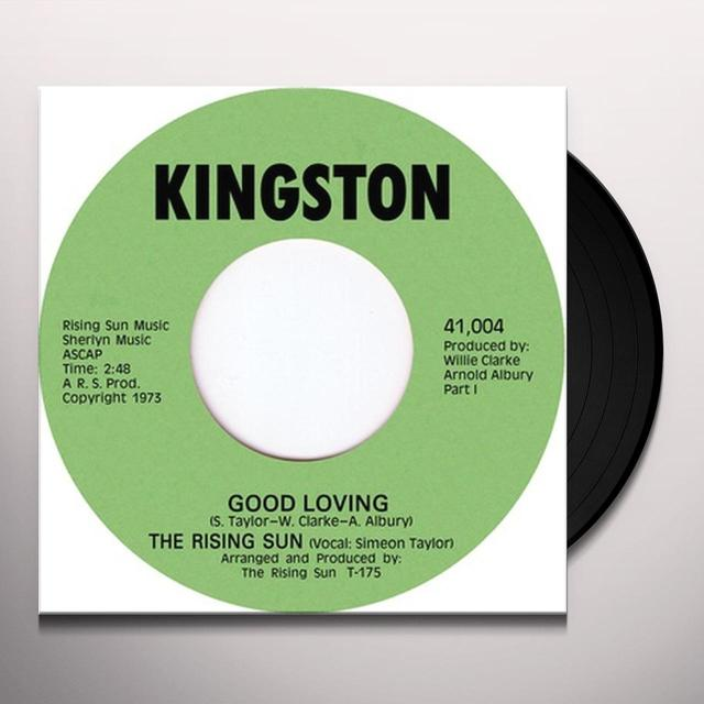 Rising Sun GOOD LOVING Vinyl Record - UK Import
