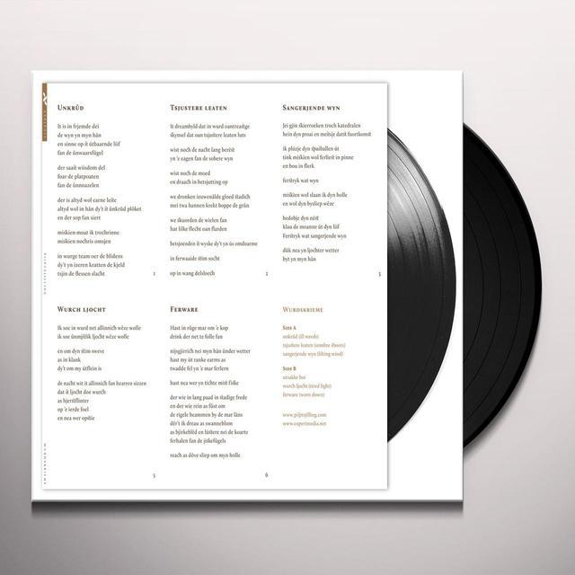 PIIPTSJILLING WURDSKRIEME Vinyl Record - UK Release