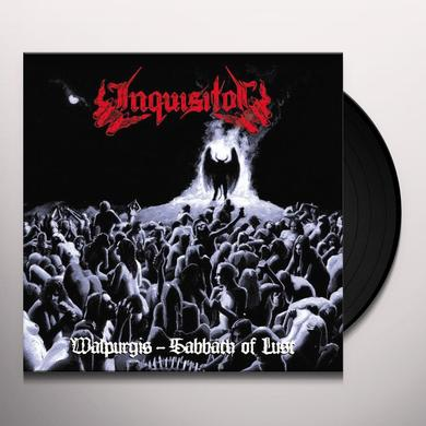INQUISITOR WALPURGIS-SABBATH OF LUST Vinyl Record