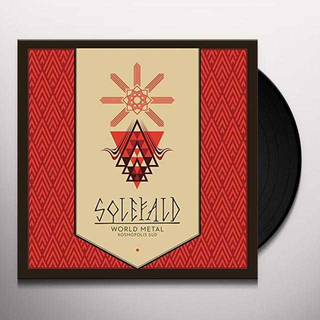 Solefald WORLD METAL. KOSMOPOLIS SUD. Vinyl Record - UK Release