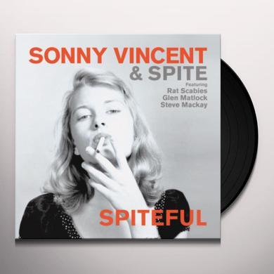 Sonny Vincent SPITEFUL Vinyl Record