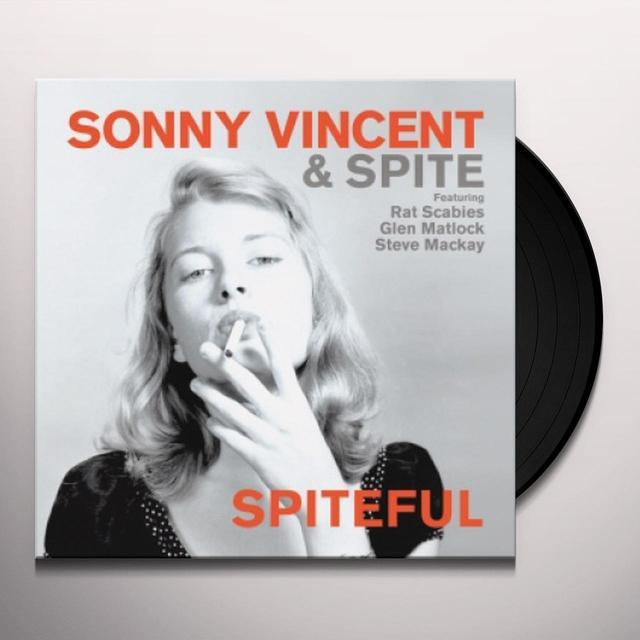 Sonny Vincent SPITEFUL Vinyl Record - UK Import