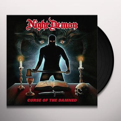 NIGHT DEMON CURSE OF THE DAMNED Vinyl Record - UK Import