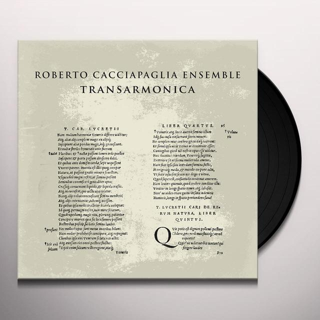 CACCIAPAGLIA ENSAMBLE TRANS-ARMONICA / LIVE AT AFTERFORUM FESTIVAL Vinyl Record - Italy Release