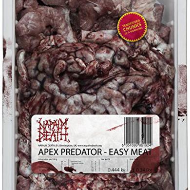 Napalm Death APEX PREDATOR-EASY MEAT Vinyl Record