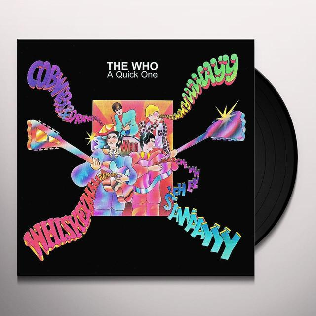 The Who A QUICK ONE (UK) (Vinyl)