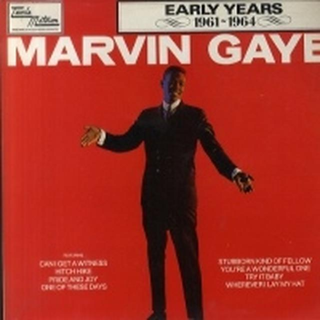 MARVIN GAYE: 1961-65 Vinyl Record - UK Release