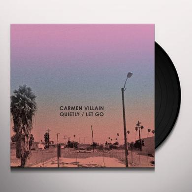 CARMEN VILLIAN QUIETLY / LET GO (UK) (Vinyl)