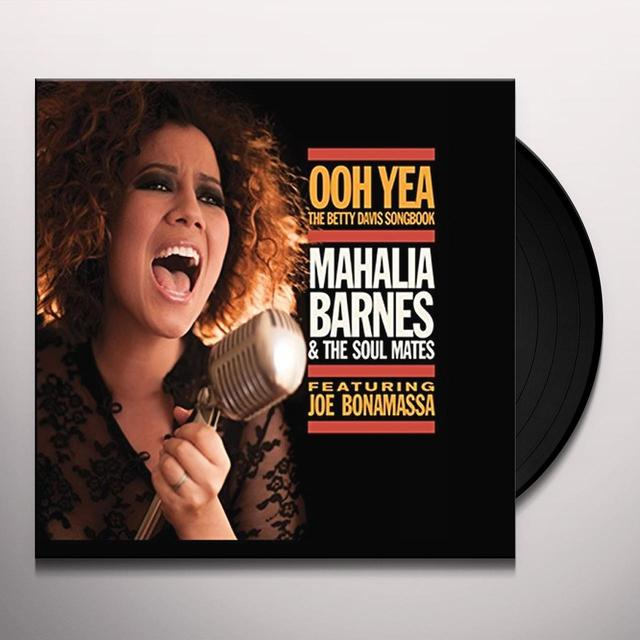 Mahalia Barnes OOH YEAH-THE BETTY DAVIS SONGBOOK Vinyl Record