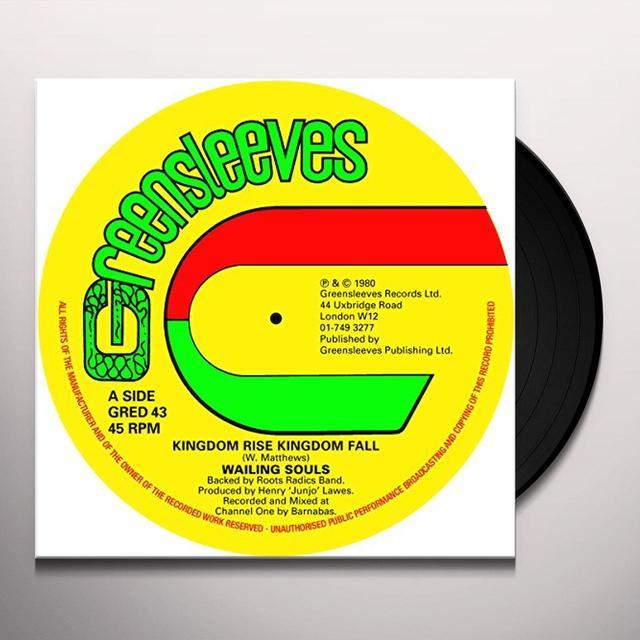 Wailing Souls KINGDOM RISE KINGDOM FALL Vinyl Record - UK Release