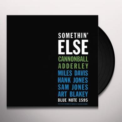 Cannonball Adderley feat. Miles Davis SOMETHIN ELSE Vinyl Record