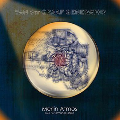 Van Der Graaf Generator MERLIN ATMOS: LIVE PERFORMANCES 2013 Vinyl Record