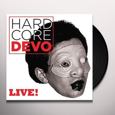 Devo HARDCORE LIVE Vinyl Record