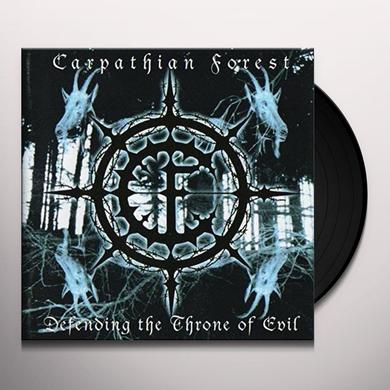 Carpathian Forest DEFENDING THE THRONE OF EVIL Vinyl Record