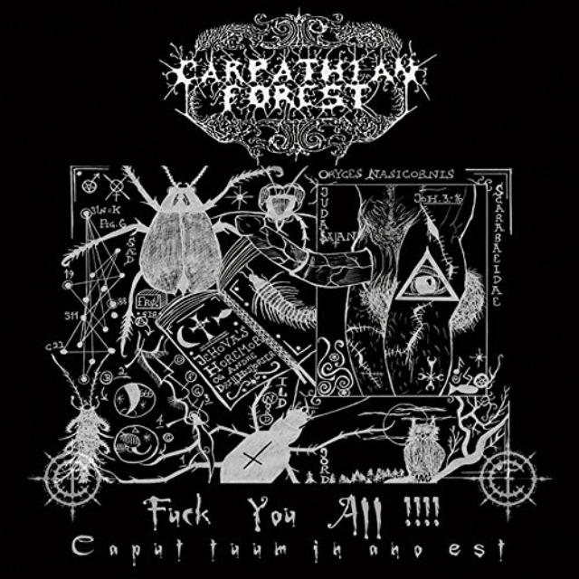 Carpathian Forest FUCK YOU ALL Vinyl Record