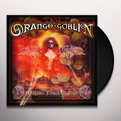 Orange Goblin HEALING THROUGH FIRE Vinyl Record