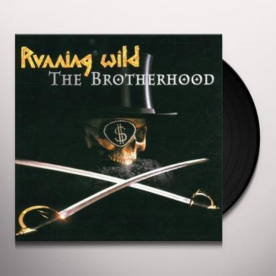 Running Wild BROTHERHOOD Vinyl Record
