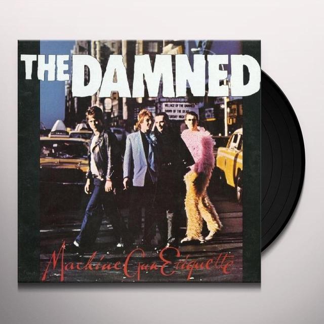 Damned MACHINE GUN ETIQUETTE Vinyl Record
