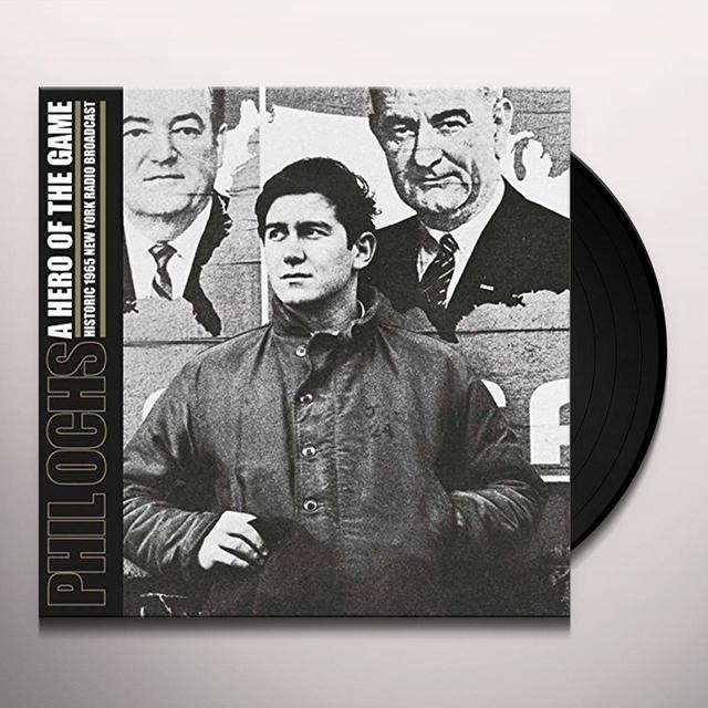 Phil Ochs HERO OF THE GAME Vinyl Record