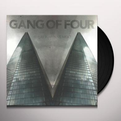 Gang Of Four WHAT HAPPENS NEXT Vinyl Record - Limited Edition